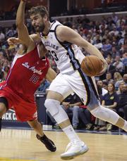 Favorite Memphis Grizzlies' Player   Marc Gasol has spent much of his time in Memphis since his brother, Pau, was drafted by the team in 2001. He attended high school in East Memphis at Lausanne, but returned to Spain after graduation to play for FC Barcelona and Akasvayu Girona. Drafted by the L.A. Lakers in the 2007 draft and traded to the Memphis Grizzlies in a deal that included his brother, Gasol became an NBA All-Star in 2012 and is the reigning NBA Defensive Player of the Year. By a fairly sizeable nine-point margin, Gasol was named as respondents' favorite Memphis Grizzlies' player (29 percent). Zach Randolph (20 percent) and Tony Allen (19 percent) essentially tied for second-place as the favorite Memphis Grizzlies' player. Also in the running were Mike Conley (11 percent) and Mike Miller (4 percent).