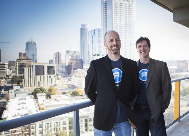Joshua McClure (left) and Craig Hancock want to change the way real estate is leased.