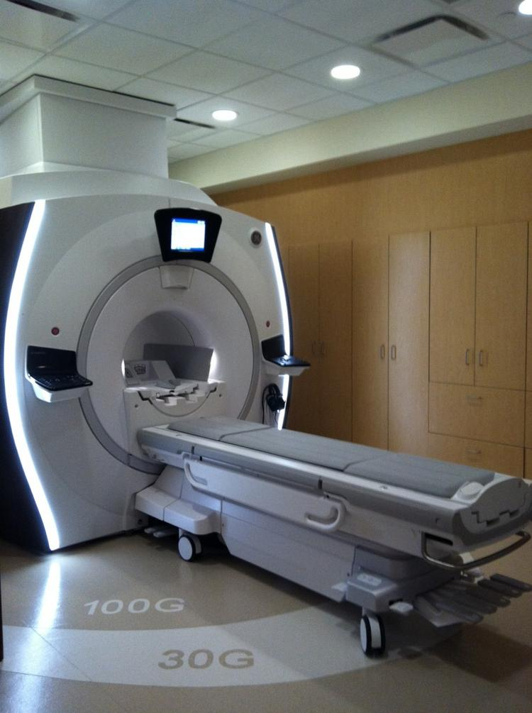 Wheaton Franciscan's Elmbrook Memorial campus in Brookfield was the first local hospital to purchase GE's MRI system with Silent Scan.