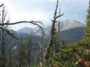 Views in the Wild Basin backcountry area of Rocky Mountain National Park, Colo.