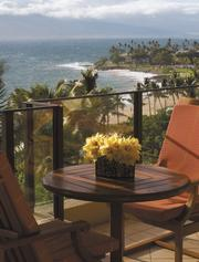 The Elite Oceanfront Deluxe Suites at the Four Seasons Resort Maui offers the fifth-most-expensive room.