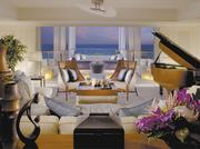 The Presidential Suite at the JW Marriott Ihilani Resort & Spa at Ko Olina is tied for seventh, in terms of daily rate.