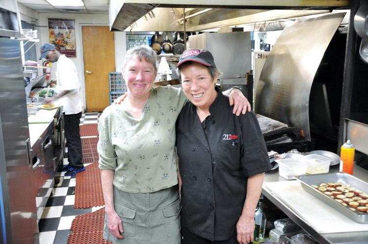 Sisters Sally and Susan Moses were ahead of the trend line when they opened 212 Market Restaurant in downtown Chattanooga, Tennesse in 1992 with a focus on local food.
