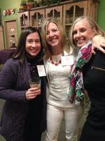 Women Who Mean Business share holiday cheer