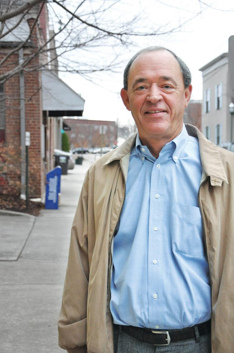 Jon Kinsey, former mayor and one of the largest property owners in downtown Chattanooga, Tennessee.