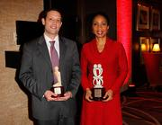 Honorees Dr. Judd Walson and Dr. Helene Gayle.