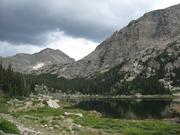 Pear Lake, in the Wild Basin backcountry area of Rocky Mountain National Park, Colo.