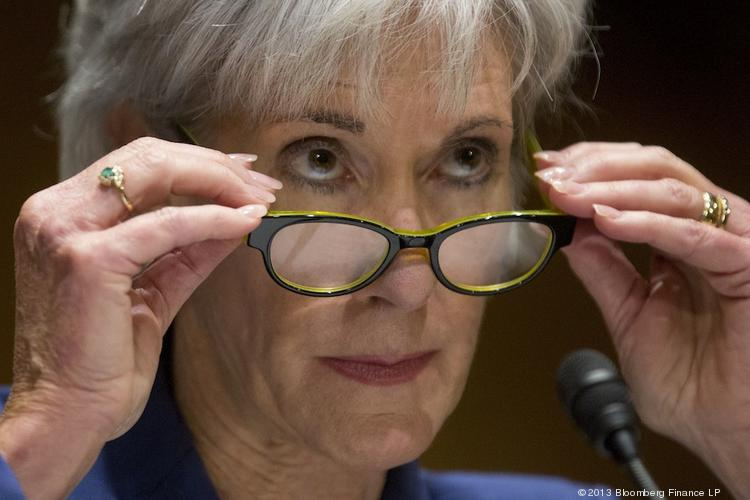 "HHS Secretary Kathleen Sebelius said December's surge in enrollment through HealthCare.gov shows there's a ""strong demand"" for health insurance under the Affordable Care Act."