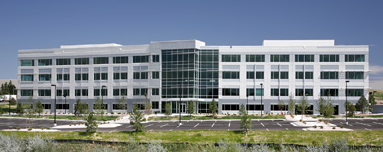 The building that houses WildBlue Communications, 349 Inverness Drive South, sold for $18.25 million.
