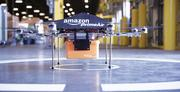 """Amazon's """"Prime Air"""" octocopter drone could eventually be used for package delivery."""