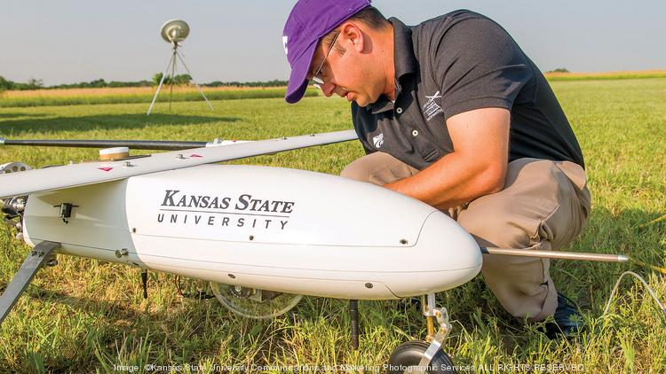 Kansas State University is helping lead the way in drone development and research. It's part of a growing and coordinated attack by Kansas to win more work in the emerging industry.