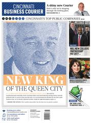 """Our redesign took effect on June 21, with the centerpiece  """"New king of the Queen City"""" that analyzed Cincinnati Reds owner Bill Castellini's role in the Cincinnati business community."""