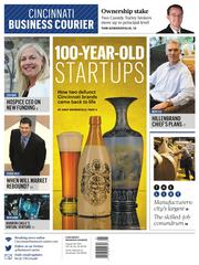 Andy Brownfield covers the startup scene for us. And with this centerpiece, he reminds us that it's not all about apps. Cincinnati has two  100-year-old startups.