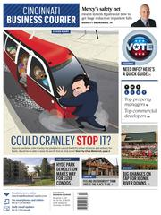 Streetcar, streetcar, streetcar. The project has been the buzzword this year. Right before the election, we examined if candidate John Cranley could follow through on his promise to kill the streetcar. Cool cover illustration by Kevin Necessary