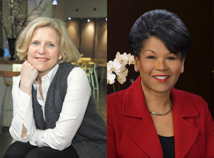 Resource founder Nancy Kramer, left, and Jones Day partner Yvette McGee Brown have joined the board at Glimcher Realty Trust.