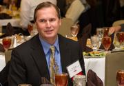 Brad Pepper of South Central Kansas Education Service Center at the Best Places To Work luncheon.