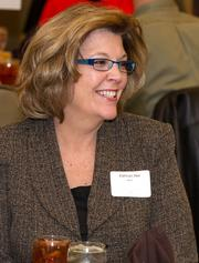 Kathryn Ake of Wichita Area Technical College at the Best Places To Work luncheon.