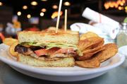 The PBLT, which features pork belly.