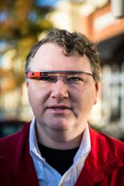 "Wingo is all about the gadgets. Today's toy? The Google Glass, which in addition to making him ""very popular"" at Starbucks, helps him connect with employees. After all, everyone wants to try them on."
