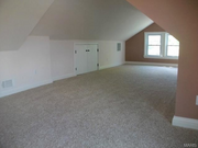 7254 Sarah Ave.: The second floor features a flexible living space.