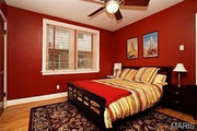 1125 Edward Terrace: One of four bedrooms.