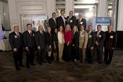 The group of 19 honorees at the BBJ CEO Awards 2013.