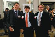 Ben Paulk, Marc Escalona and Daniel Strickland at the BBJ CEO Awards 2013.