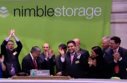 Nimble Storage S Through Ipo Targets Stock Soars Silicon Valley Business Journal
