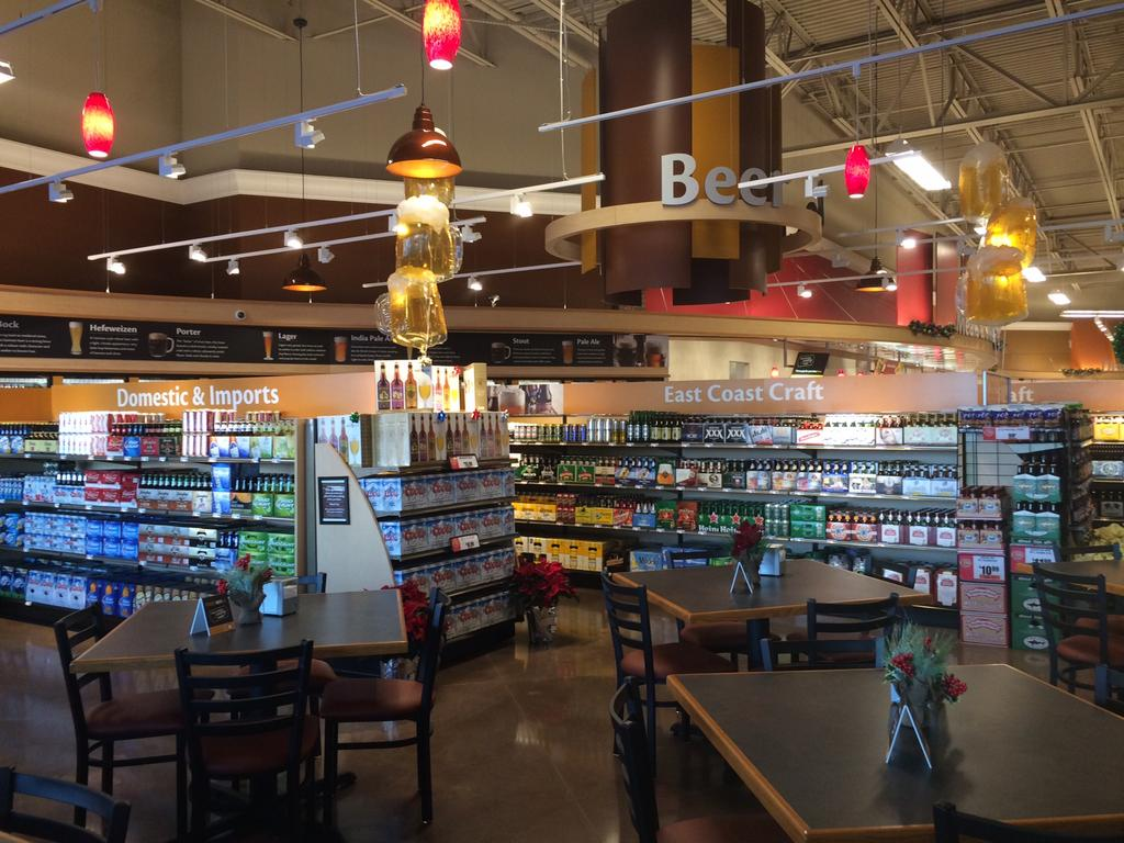 New Giant Food Store features beer garden - Philadelphia