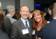 Developer Stuart Ackerberg and Jigsaw Unlimited owner Susan Diamond at Best in Real Estate. View more photos from this event.