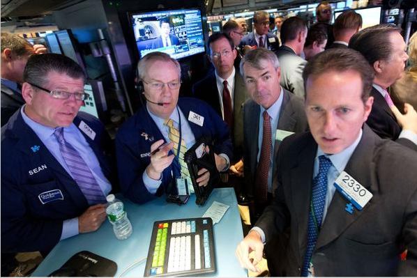 Down 62%: Cyan CEO Mark Floyd (second from right) had reason to look concerned on May 8 when the Petaluma software-defined networking company debuted on the New York Stock Exchange. It sold its IPO shares at $11, raising $88 million, and struggled to finish the day up 1 percent. It closed on Dec. 19 at $4.19. Cyan raised more than $30 million in venture funding and its backers include Norwest Venture Partners, Tenaya Capital, Focus Ventures, Azure Capital Partners and the TDF Fund.