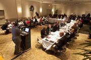 Nearly all of the 48 members of the task force attended the meeting.