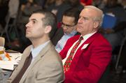 Ted Kellner (in red) of Fiduciary Management