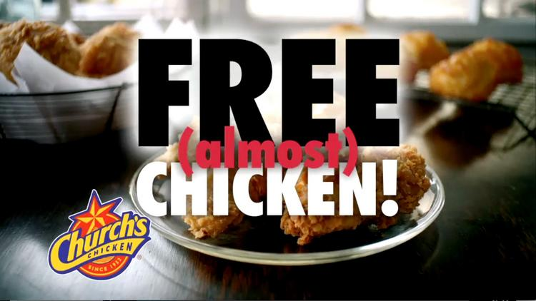 Church's Chicken has launched a new TV commercial from eswStorylab/Chicago that has fun with the hyperbole found in advertising.