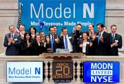 Down 33%: Model N raised $100 million on March 19 when it sold its IPO shares at $15.50. Shares of the Redwood City cloud-based revenue management company, led by CEO Zack Rinat, closed on Dec. 19 at $10.31. Its biggest backers are an Accel Partners/KKR joint venture and Meritech Capital Partners.