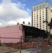 2. Demolition crews made way for new projects. So long, Miami Beach!