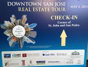 16. For the first time in four years we held the downtown San Jose real estate tour and filled three buses with brokers and developers to tour changes to the city center.