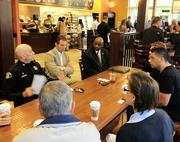 """26. The community worked with San Jose Police at all levels, including """"coffee with the captain"""" dialogs each month."""