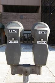 2012 revenue from parking meters: $4.7 million