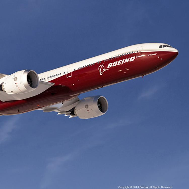 Boeing expects to announce early next year where it will manufacture the 777X.