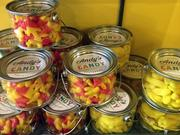 Andy's Candy Apothecary, characterized by a mix of traditional and high-end sweets, opened on Friday. Owner Andy Paul won the Calling All Dreamers business competition earlier this year.