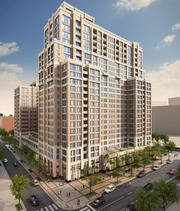 Another view of Vornado's Metropolitan Park 4/5, what will be Arlington County's largest residential building, at 699 units.