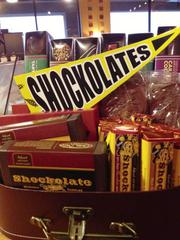 """Cocoa Dolce is selling """"Shockolates"""" products to celebrate the Wichita State Shockers."""