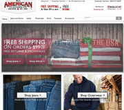 All American Clothing Co.   This Arcanum-based company sells American-made jeans and t-shirts, primarily through its online store. Founder Lawson Nickol started the company after his former employer, an American jeans manufacturer, started outsourcing labor to Mexico. He resigned from the business and started his own company, with son BJ Nickol. The Web site is www.allamericanclothing.com.