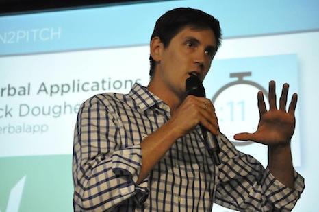 Nick Dougherty is the CEO of Boston-based Verbal Applications, which aims to improve hospital triaging and patient care.