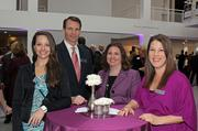 Enjoying the Celebratory Tea at the High Museum were associates Heather Thompson, James McGowan, Jacqui Rice and Jodi Halpert from Sandy Springs and Buckhead offices.