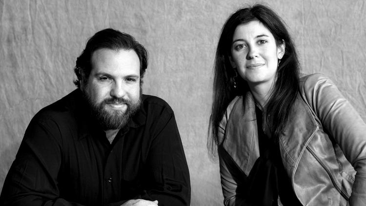 Brian Loevner (left) and Aurelia Cohen founded the Chicago Commercial Collective to tour local theatrical productions.