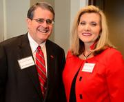 Jere Morehead, left, and Donna Hyland of Children's Healthcare of Atlanta.