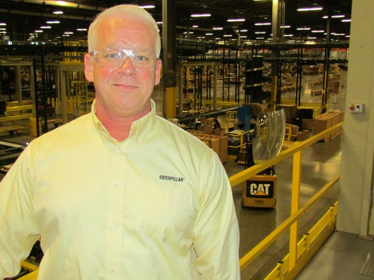 Brian Purcell is general manager of Caterpillar Logistics' Clayton facility.