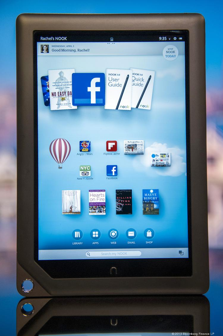 A Barnes & Noble Inc. Nook HD+ tablet computer. The company has a new deal to sell electronic versions of college campus newspapers to tablet subscribers.